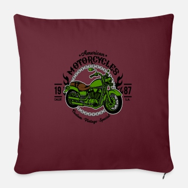 Motorcycle Motorcycle Motorcycles - Pillowcase 17,3'' x 17,3'' (45 x 45 cm)
