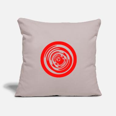 Trippy circle trippy - Pillowcase 17,3'' x 17,3'' (45 x 45 cm)