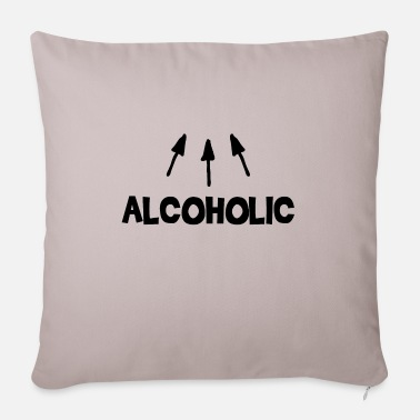 Alcohol Alcoholic alcohol - Pillowcase 17,3'' x 17,3'' (45 x 45 cm)