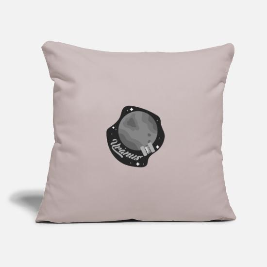 Gift Idea Pillow Cases - Uranus Planet Celestial Space Gift - Pillowcase 17,3'' x 17,3'' (45 x 45 cm) light taupe