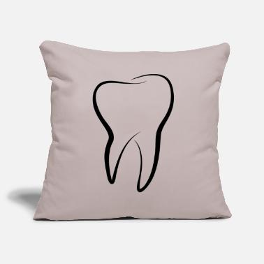 Tooth tooth - Pillowcase 17,3'' x 17,3'' (45 x 45 cm)