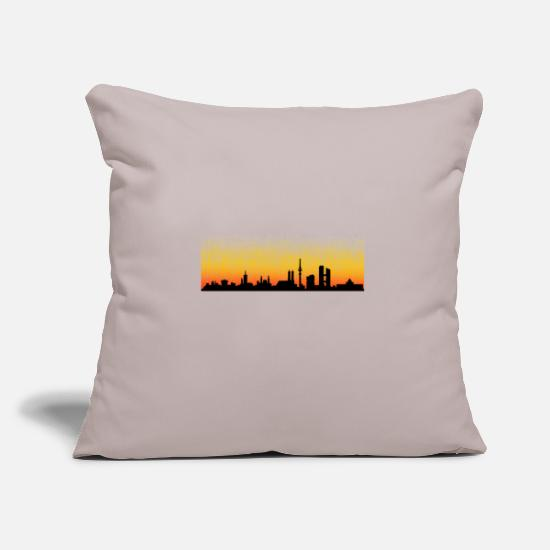 Munich Pillow Cases - Munich - Pillowcase 17,3'' x 17,3'' (45 x 45 cm) light grey