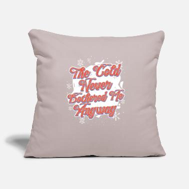 Winter Cold weather winter holiday gift - Pillowcase 17,3'' x 17,3'' (45 x 45 cm)