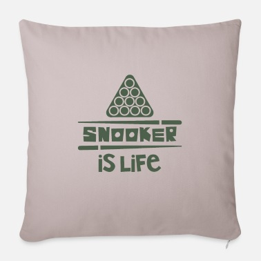 Snooker snooker - Pillowcase 17,3'' x 17,3'' (45 x 45 cm)