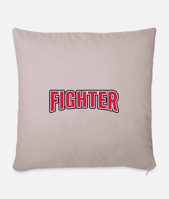Fighter Pillow Cases - Fighter - Pillowcase 17,3'' x 17,3'' (45 x 45 cm) light taupe