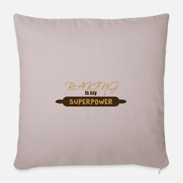 Baking Baking - baking - Pillowcase 17,3'' x 17,3'' (45 x 45 cm)