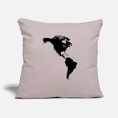 Nort America America - Pillowcase 17,3'' x 17,3'' (45 x 45 cm)