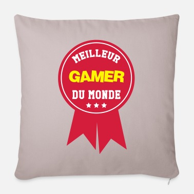 Hacking Engineer World's Best Gamer - Pillowcase 17,3'' x 17,3'' (45 x 45 cm)