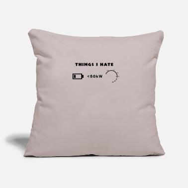 Things I hate - Pillowcase 17,3'' x 17,3'' (45 x 45 cm)