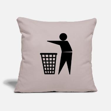 Trash Trash / Garbage - Pillowcase 17,3'' x 17,3'' (45 x 45 cm)