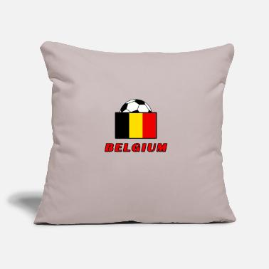 National Team BELGIUM national team design - Pillowcase 17,3'' x 17,3'' (45 x 45 cm)