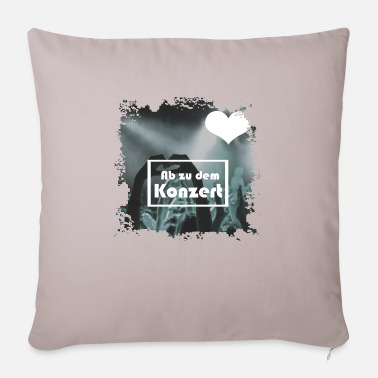 Concert concert - Pillowcase 17,3'' x 17,3'' (45 x 45 cm)