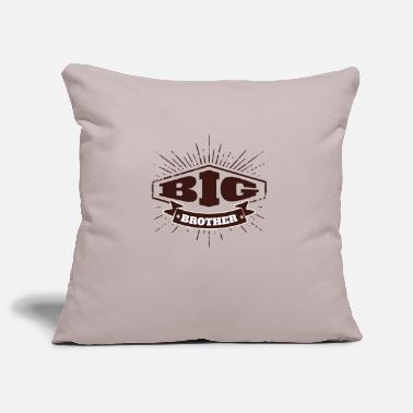 Big Big Brother Big Sister Badge Big Brother - Housse de coussin