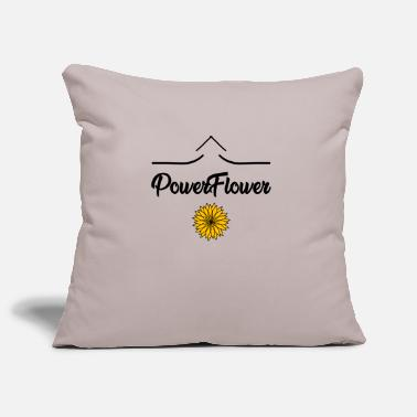 Flower Power Flower POWER - Pillowcase 17,3'' x 17,3'' (45 x 45 cm)