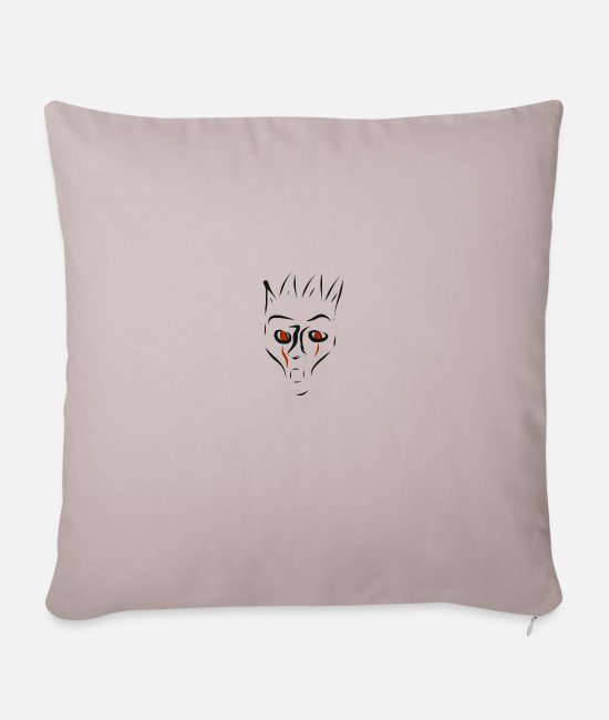 Undead Pillow Cases - Halloween - Pillowcase 17,3'' x 17,3'' (45 x 45 cm) light taupe