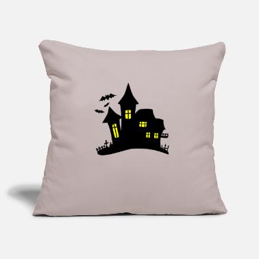 Haunt haunted house haunted house - Pillowcase 17,3'' x 17,3'' (45 x 45 cm)