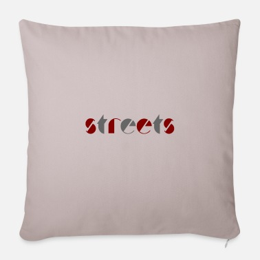 Streets STREETS streets roads sports - Pillowcase 17,3'' x 17,3'' (45 x 45 cm)