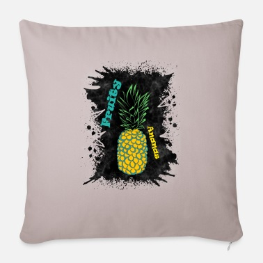 Fruity Fruity pineapple - Pillowcase 17,3'' x 17,3'' (45 x 45 cm)