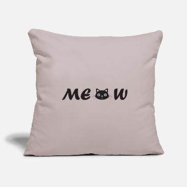 MEOW - Pillowcase 17,3'' x 17,3'' (45 x 45 cm)