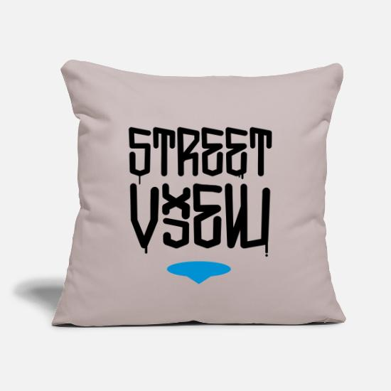 Street Style Pillow Cases - Street View - Pillowcase 17,3'' x 17,3'' (45 x 45 cm) light taupe