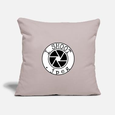 Jpeg I shoot .jpeg - Pillowcase 17,3'' x 17,3'' (45 x 45 cm)
