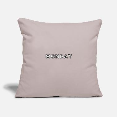 Monday Monday / Monday - Pillowcase 17,3'' x 17,3'' (45 x 45 cm)