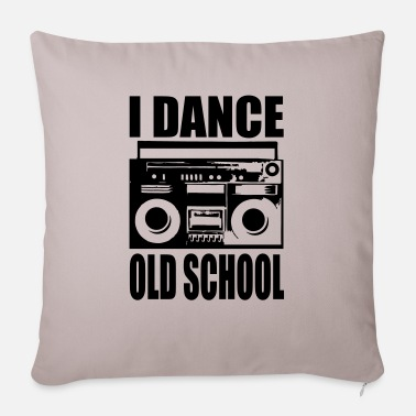 I Dance Old School i dance old school - Pillowcase 17,3'' x 17,3'' (45 x 45 cm)
