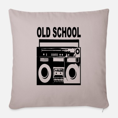 I Dance Old School old school - Pillowcase 17,3'' x 17,3'' (45 x 45 cm)