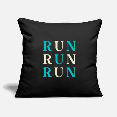 Running RUN RUN RUN - Pillowcase 17,3'' x 17,3'' (45 x 45 cm)