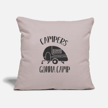 Camper Campers gonna camp - Housse de coussin
