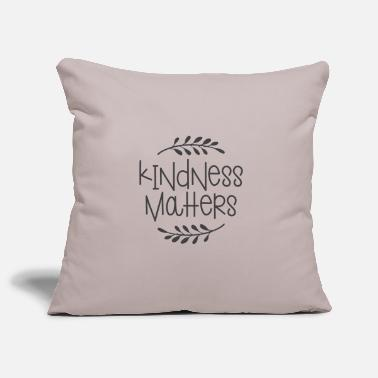 All Lovely Ideas KINDNESS MATTERS - Pillowcase 17,3'' x 17,3'' (45 x 45 cm)