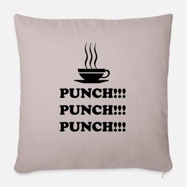Punch Punch !!! Punch !!! Punch !!! - Pillowcase 17,3'' x 17,3'' (45 x 45 cm)