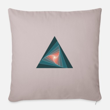 Figure Of Speech triangular figure - Pillowcase 17,3'' x 17,3'' (45 x 45 cm)