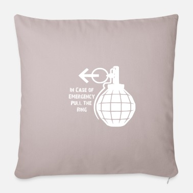Emergency Emergency Emergency Distress Shirt - Pillowcase 17,3'' x 17,3'' (45 x 45 cm)