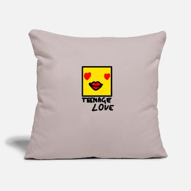 Teenager Self Picture Girl: Teenage Love - Housse de coussin