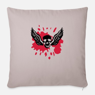 wingskull_092011_b_2c - Pillowcase 17,3'' x 17,3'' (45 x 45 cm)