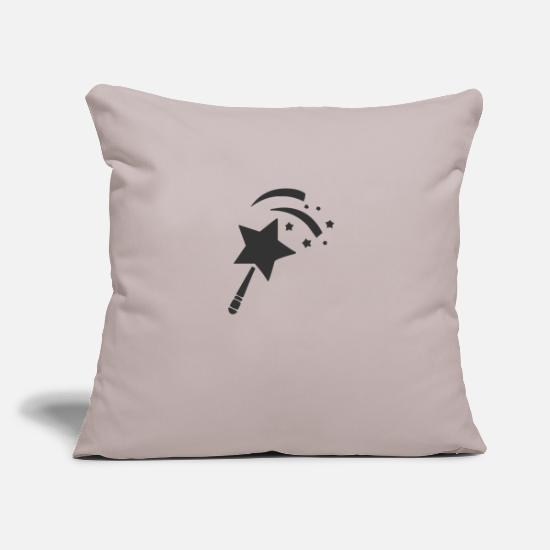 Magic Pillow Cases - wand - Pillowcase 17,3'' x 17,3'' (45 x 45 cm) light taupe