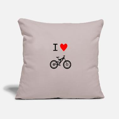 Love Adoro Mountainbike (Nero) - Copricuscino