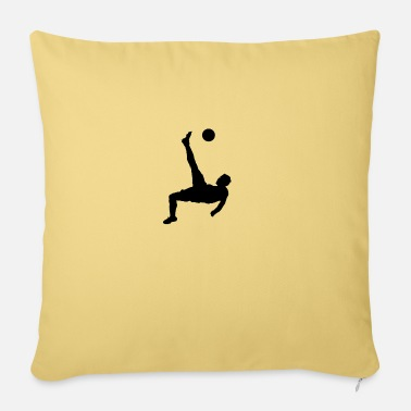 Corner Kick overhead kick - Pillowcase 17,3'' x 17,3'' (45 x 45 cm)