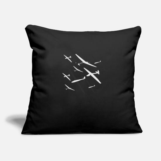 Flight Pillow Cases - K6 GAGGLE - Pillowcase 17,3'' x 17,3'' (45 x 45 cm) black