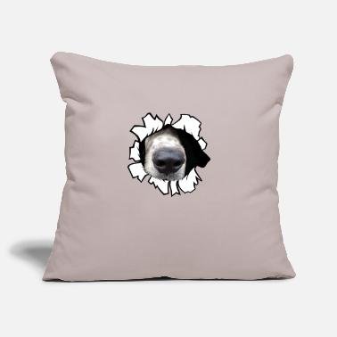 Dog nose - Pillowcase 17,3'' x 17,3'' (45 x 45 cm)