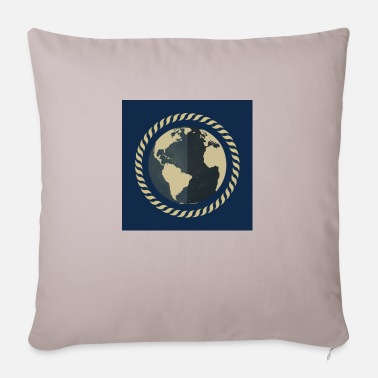 World The world / The world - Pillowcase 17,3'' x 17,3'' (45 x 45 cm)