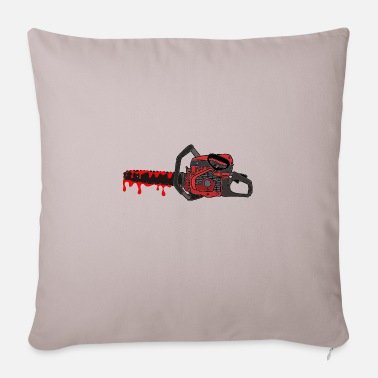 Chain Saw chain saw - Pillowcase 17,3'' x 17,3'' (45 x 45 cm)