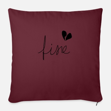 Fine fine - Pillowcase 17,3'' x 17,3'' (45 x 45 cm)