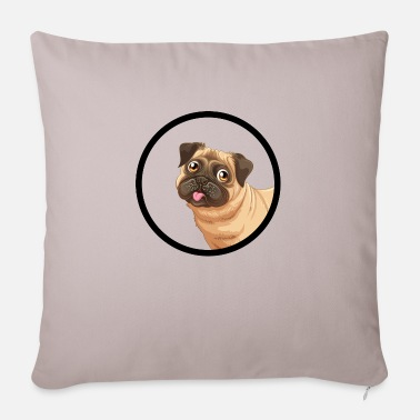 Dogs Dog dogs dog - Pillowcase 17,3'' x 17,3'' (45 x 45 cm)