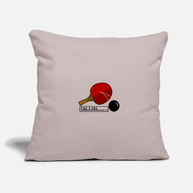 Passierschlag Table Tennis Ping Pong Table Tennis Ball Gift - Pillowcase 17,3'' x 17,3'' (45 x 45 cm)