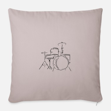 Drum Set Drum set - Pillowcase 17,3'' x 17,3'' (45 x 45 cm)