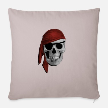 Pirate Cloth Pirate skull - Pillowcase 17,3'' x 17,3'' (45 x 45 cm)