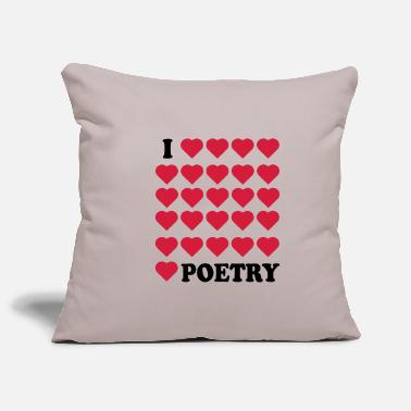 Poetry Poetry - Pillowcase 17,3'' x 17,3'' (45 x 45 cm)