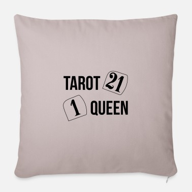 Tarot The Queen of Tarot - Pillowcase 17,3'' x 17,3'' (45 x 45 cm)